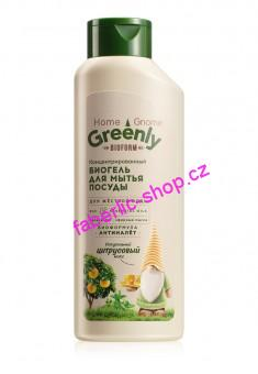 Biogel na mytí nádobí koncentrovaný Citrusový mix Home Gnome Greenly 500 ml