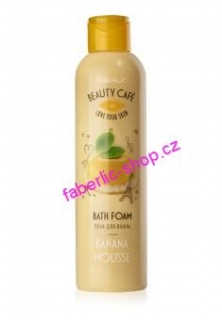 BEAUTY CAFÉ Pěna do koupele Bananová pěna 200 ml
